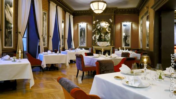 Le Pressoir d'Argent - Le Grand Hotel - Gordon Ramsay Salle du restaurant