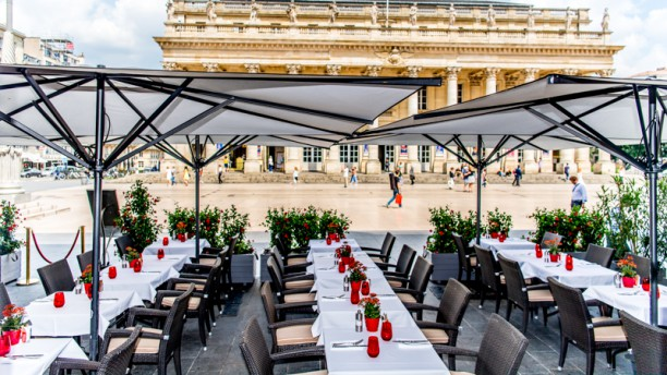 Brasserie Le Bordeaux - Gordon Ramsay - InterContinental Bordeaux - Le Grand Hôt Terrasse