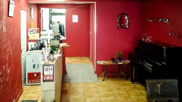 Restaurant Au Théâtre Vue entrée