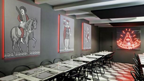 Briscola Pizza Society - Sempione Vista della sala