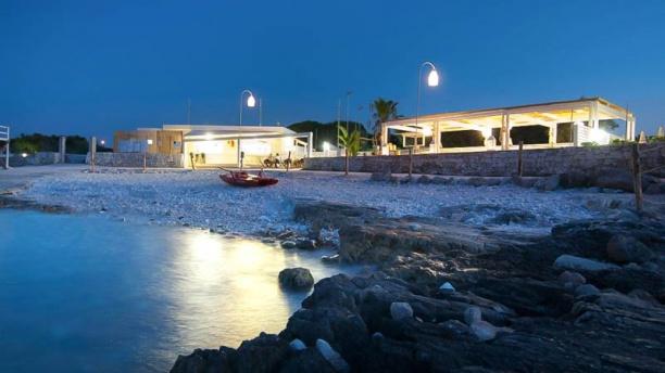 La Casetta del Pescatore al Coco Beach Club Vista dal mare