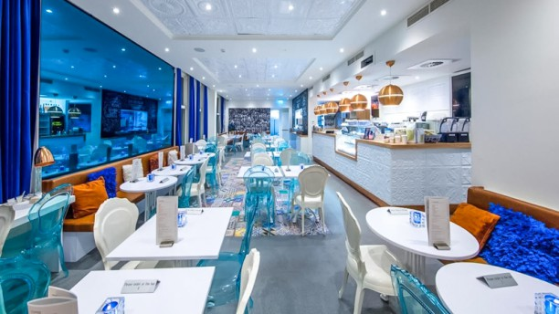 Blushing  Amsterdam Restaurant