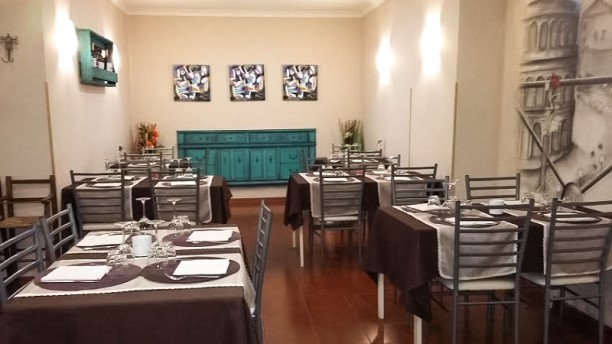 A Casa di Giusy Sala del ristorante