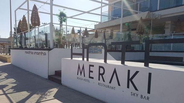 Meraki - Meraki Beach Hotel Entrada