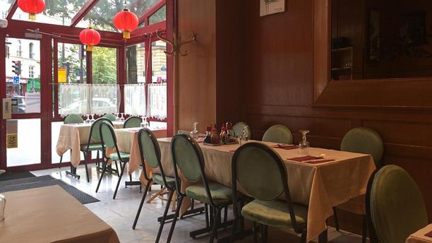 Auberge d'Asie Salle du restaurant