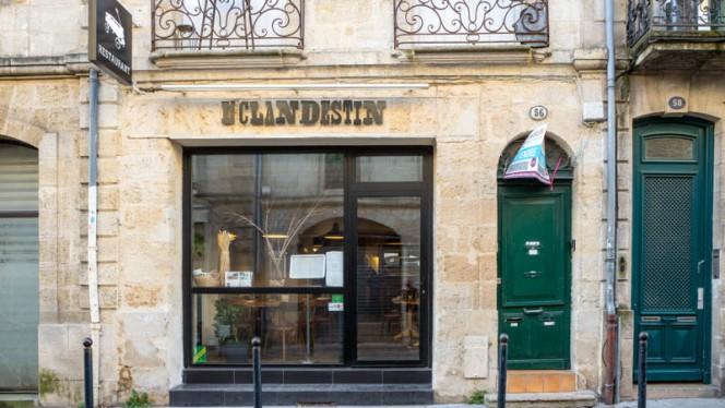 Devanture / Façade - Le Clandestin, Bordeaux