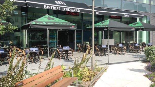 Le Bistrot d'Edgard Terrasse