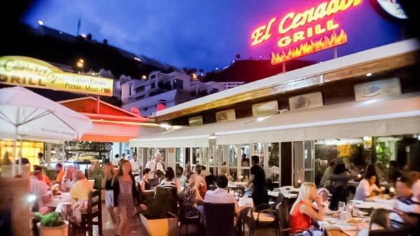 El Cenador Grill Vista terraza