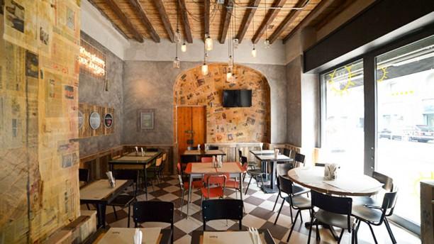 Ham Holy Burger Milano Bligny Vista sala