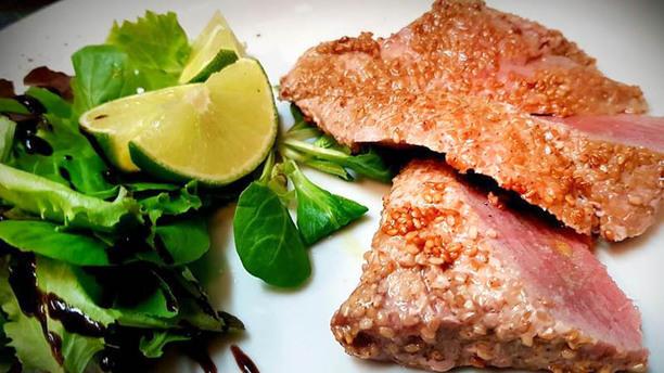 Sorsi&Morsi Trancio di tonno in crosta di sesamo