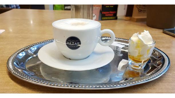 Grand café La Porte koffie