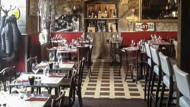 Cafe de Lyon vue de la salle