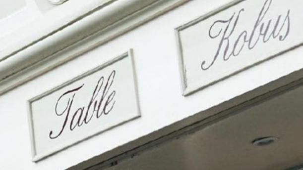 La Table du Kobus Le logo