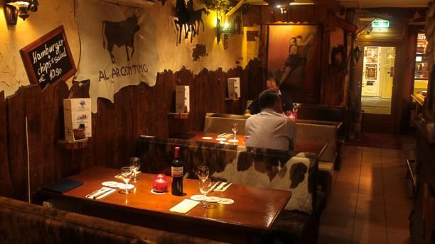 Al Argentino Restaurantzaal