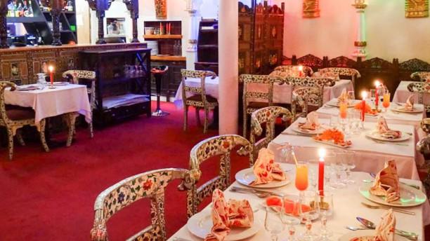 Indian Palace Vue de la salle