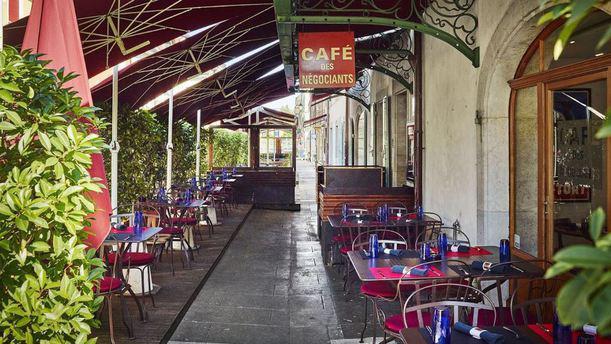Café des Négociants Terrasse