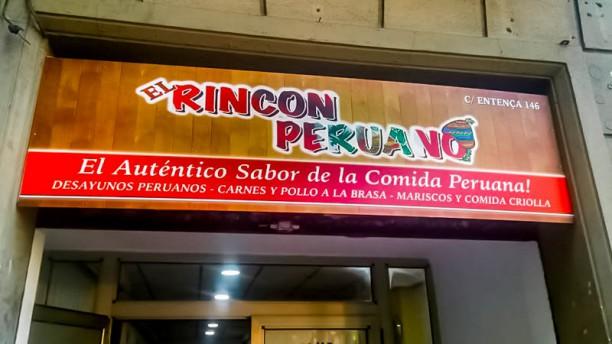 El Rincón Peruano Entrada