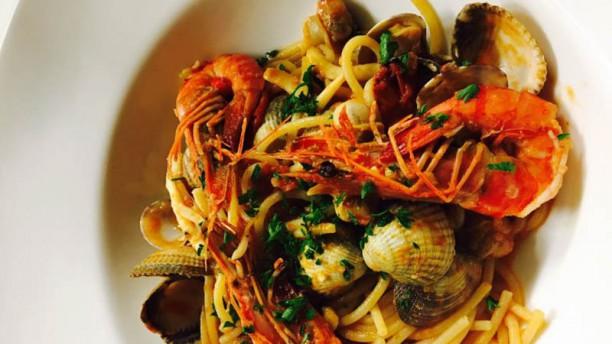 Pomo D'oro Spaghetti Frutti di mare
