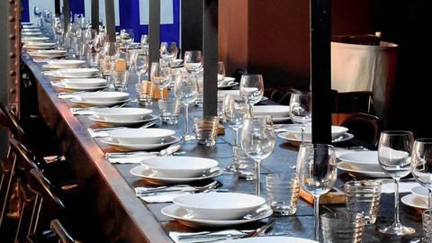 "Eat God and Art ""EGA"" Restaurant Centre d'Art Contemporain Jean-Marc Sinan, Arcueil"