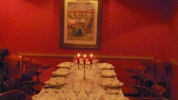 La Marmita de Gijón Vista decoración mesa