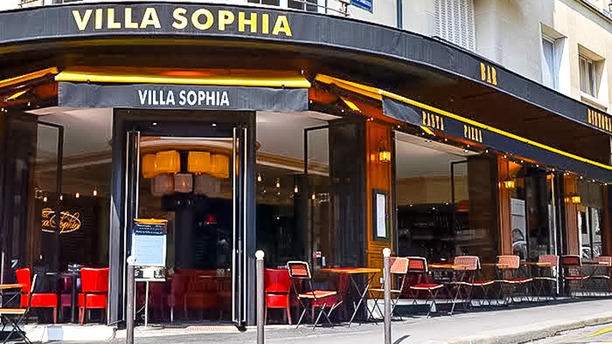 restaurant la villa sophia paris 75116 champs elys es. Black Bedroom Furniture Sets. Home Design Ideas