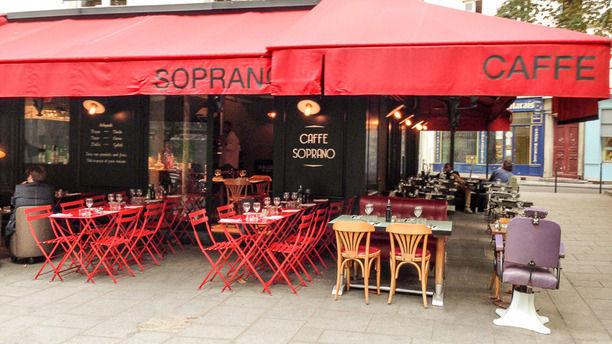 Caffé Soprano Un petit coin d'Italie dans le nord du Marais