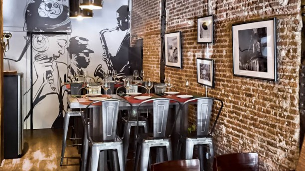 Trikki Nueva Orleans Traditional Cuisine Vista sala