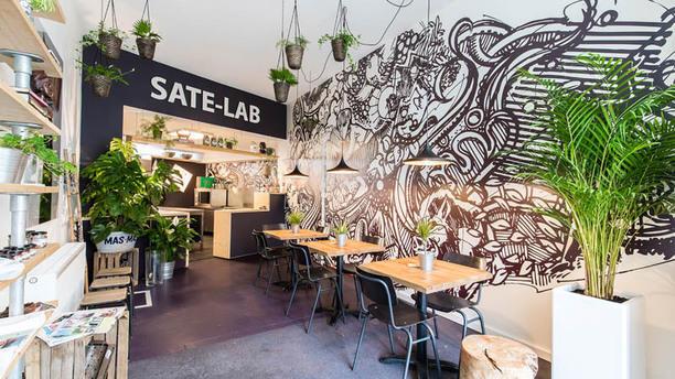 Saté-man Het restaurant