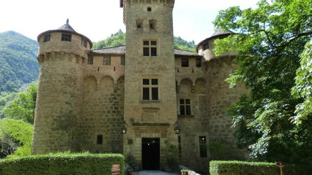 Château de la Caze Entrée