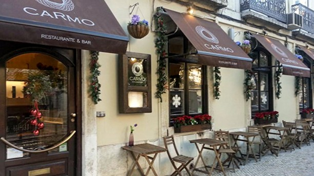 Restaurante Carmo exterior