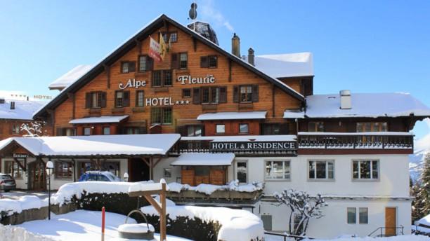 Alpe Fleurie Vue Exterieur hiver
