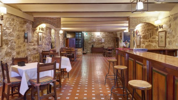 Restaurante Parador de Úbeda Vista sala