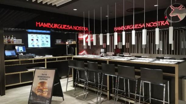 Hamburguesa Nostra - Málaga Gourmet Vista de la sala