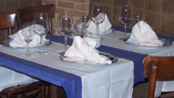 El Sauco Detalle mesa