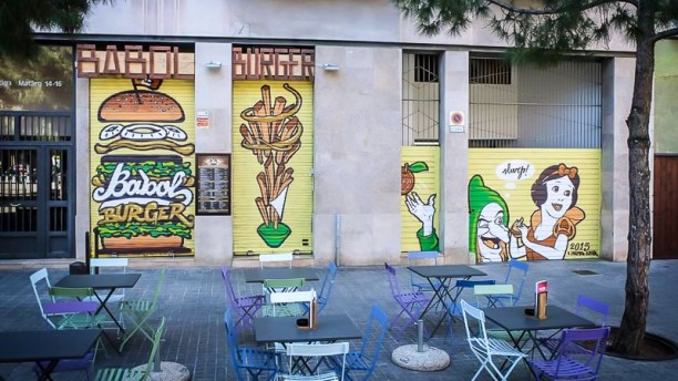 Babol Burger Vista entrada