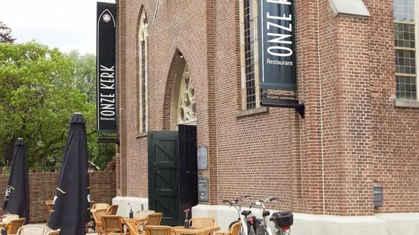 Restaurant Onze Kerk Terras