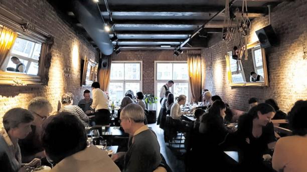 SHAM (Warmoesstraat) Het restaurant
