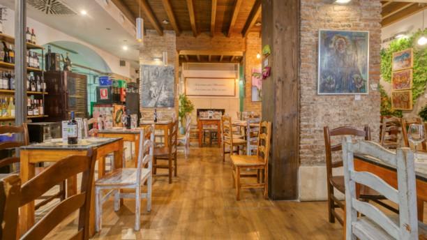 L'atelier Clandestino Gourmet Vista de sala