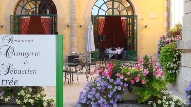L'Orangerie de Sébastien Entrée du restaurant
