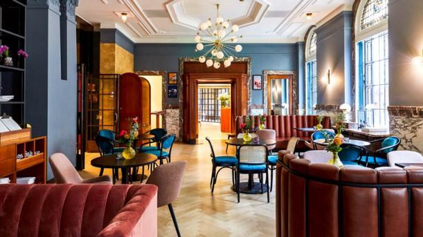 Brasserie Stocks & Bonds Het restaurant