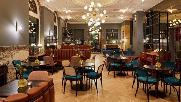 Brasserie Stocks & Bonds Interieur