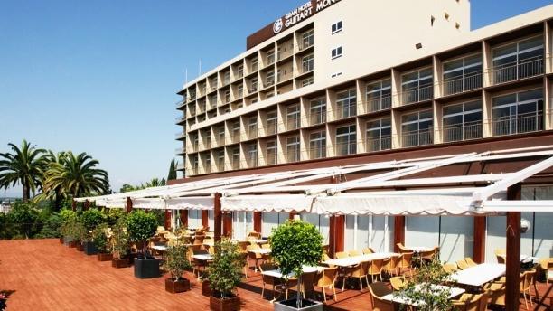 Monterrey - Hotel Guitart Monterrey Vista terraza