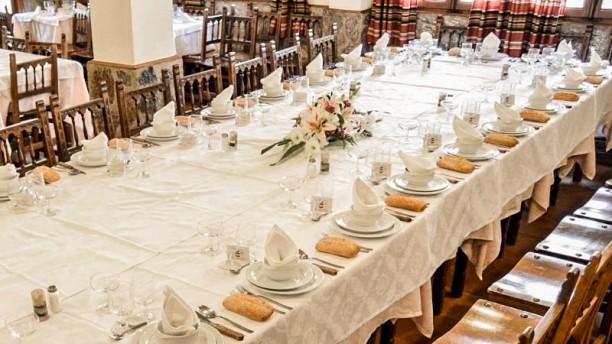 Mesón Alcarria Detalle mesa