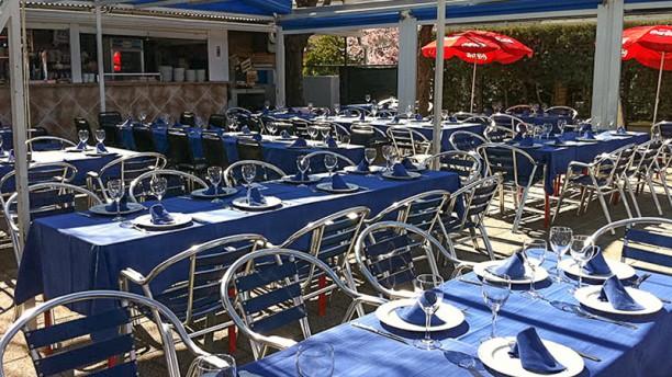 Terraza Casino de Mingorubio Vista terraza