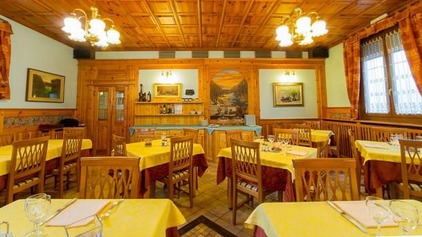 Hotel Franca & Trattoria San Sebastiano Veduta dell interno