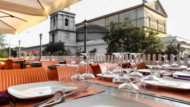 Beber Churrascaria Ostiense terrazza con vista