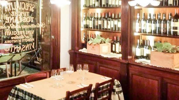 Osteria La Saletta sala