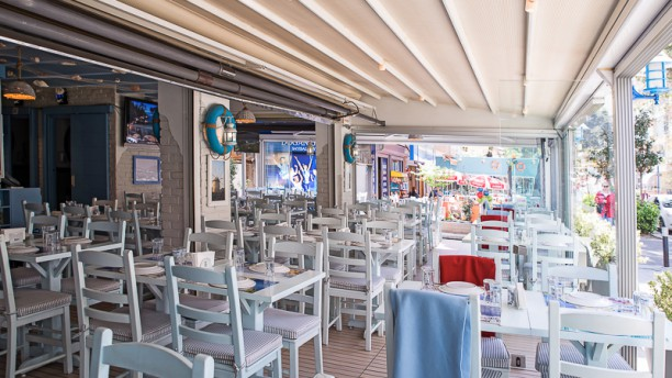 Egeo Balık Dining room