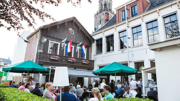 Stadscafé Restaurant 't Feithhuis Ons Terras