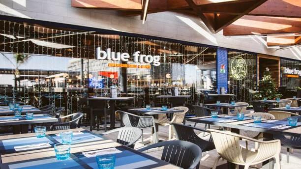Blue Frog Finestrelles Vista de la sala